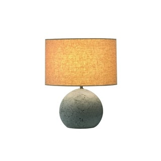 SLV Lighting Soprana Solid TL-1 1-light Concrete Grey Table Lamp