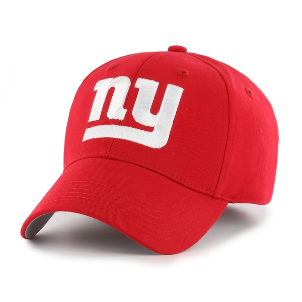 8239bb952fcefe Shop New York Giants NFL Basic Cap by Fan Favorite - Free Shipping On Orders  Over $45 - Overstock - 14452610
