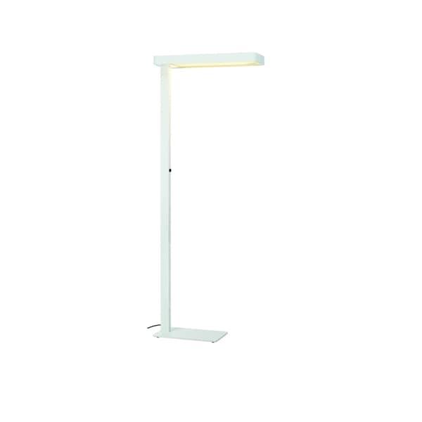 SLV Lighting Worklight LED White Floor Lamp