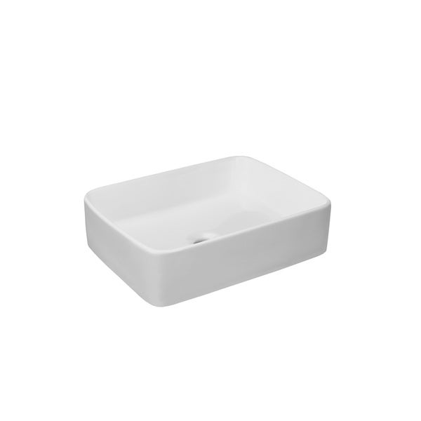 Ordinaire Ronbow Merit White Ceramic 18 Inch Bathroom Vessel Sink