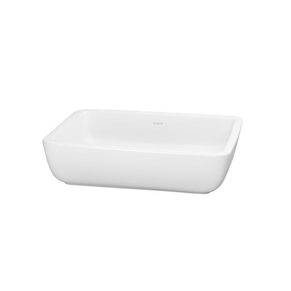 Shop Ronbow Mod 19-inch Above Counter Ceramic Bathroom ...