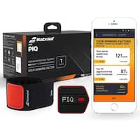 PIQ and Babolat Wearable Tennis Swing Analyzer with Serve Speed and Swing Type Tracking