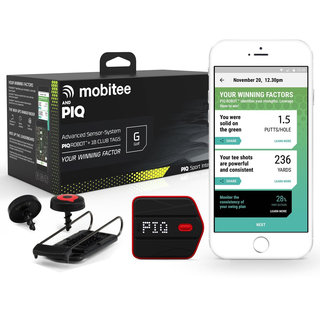 Mobitee and PIQ Wearable Golf Sport Tracker