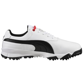 PUMA Ace Golf Shoes White/Black/Red
