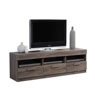 Acme Furniture Alvin Rustic Oak TV Stand