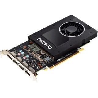 PNY Quadro P2000 Graphic Card - 5 GB GDDR5 - Full-height - Single Slo