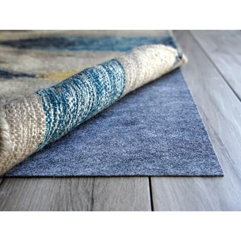 AnchorPro Blue Felt/Rubber Ultra-low-profile Nonslip Rug Pad (7' x 7')