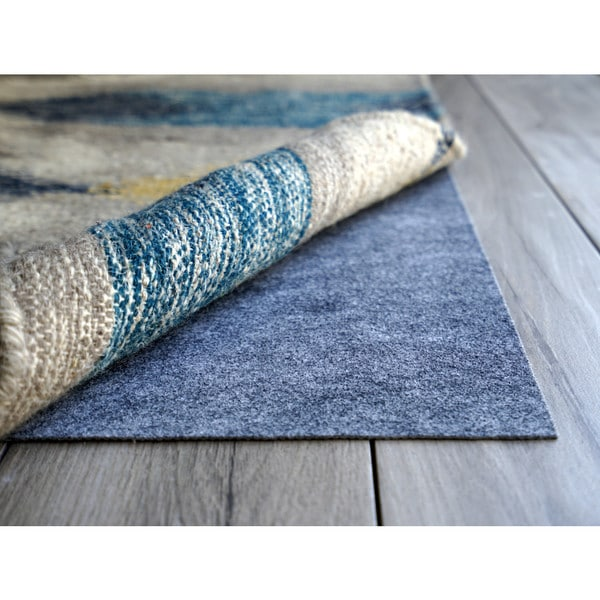 AnchorPro Low Profile Non slip Rug Pad - Grey - 3' x 3'