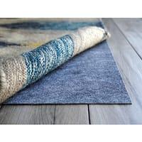 AnchorPro Ultra Low Profile Blue Felt/Rubber Non-slip Rug Pad (9' Round)
