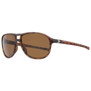 Tag Heuer 27' Urban TH6043 Men's Matte Havana Frame Brown Lens Designer Sunglasses