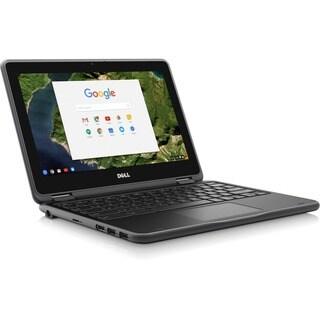 "Dell Chromebook 11 3180 11.6"" LCD Chromebook - Intel Celeron N3060 Du"