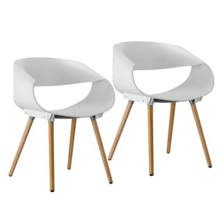 Porthos Home Eames-Style Arm Chair (Set of 2)