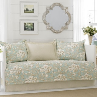 Laura Ashley Brompton Serene Piece Daybed Cover Set Free - Laura ashley grey living room