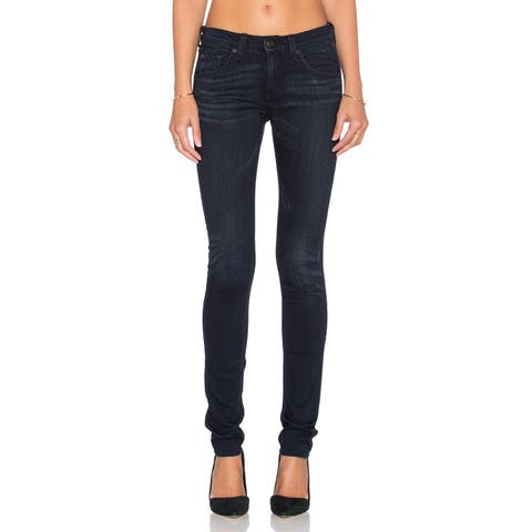 Rag Bone Women's Blue High Rise Skinny Jeans