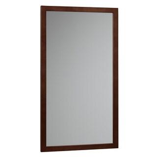 Ronbow Alina Solid Wood Frame 17x31-inch Bathroom Vanity Mirror
