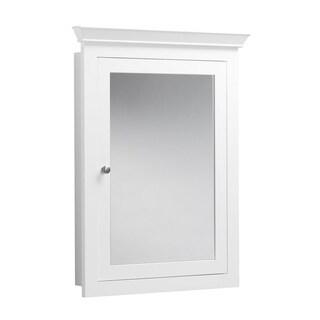 Ronbow Edward 27-inch x 34-inch Solid Wood Framed Bathroom Medicine Cabinet