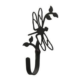 Village Wrought-iron Small Dragonfly Wall Hook