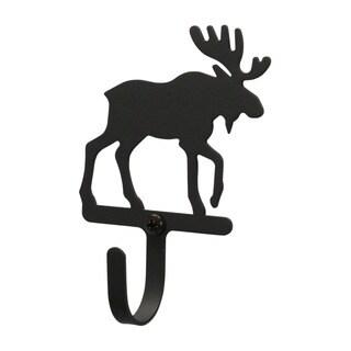 Village Wrought Iron Small Moose Wall Hook