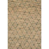 Hand-woven Ember Trellis Rug - 5' x 7'6