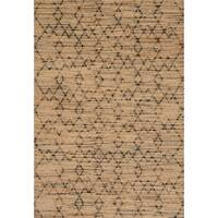 Hand-woven Ember Geometric Rug - 2'3 x 3'9