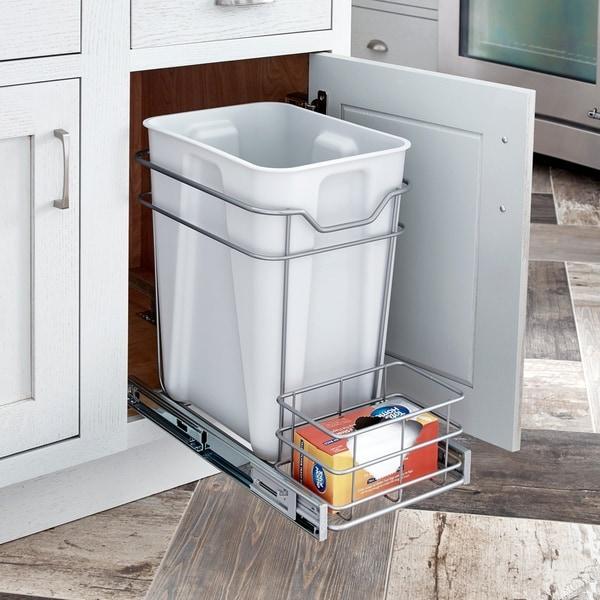 ClosetMaid Premium 24 Quart Cabinet Pull Out Trash Bin