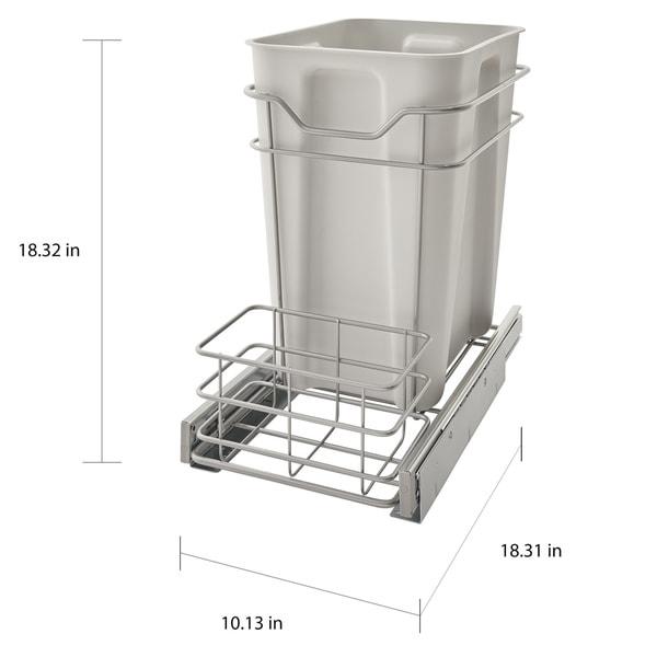 ClosetMaid Premium 24-quart Cabinet Pull-out Trash Bin