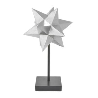 Three Hands Silver-tone Resin Small Star Tabletop Decor and Stand