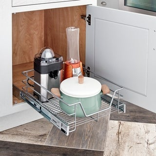 ClosetMaid Premium 14.5-inch Single Tier Cabinet Pull-out Basket