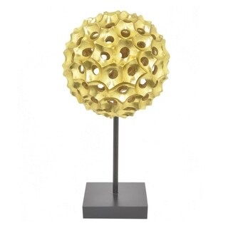 Three Hands Resin Spiked Tabletop Decor - Gold