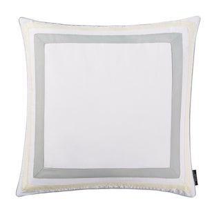 Christian Siriano Java Grey Border Euro Sham