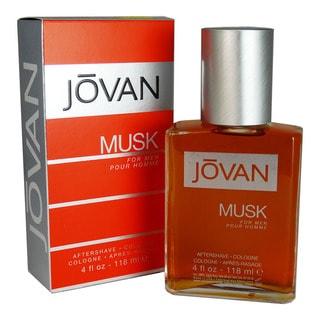 Coty Jovan Musk Men's 4-ounce Aftershave Splash
