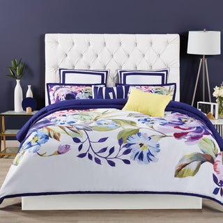 Christian Siriano Garden Bloom 3-piece Comforter Set - Purple
