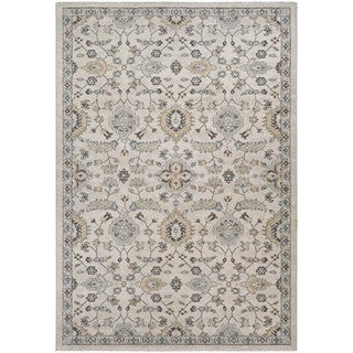 Couristan Traditions Yazd/Oyster/Spice Area Rug (5'3 x 7'6)