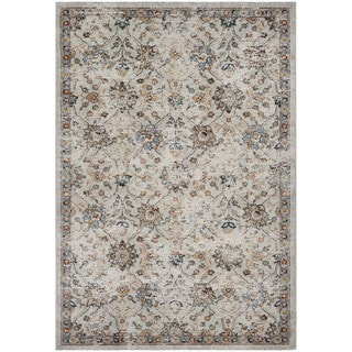 Couristan Traditions Floral/Oyster-Spice Area Rug (2' x 3'7)