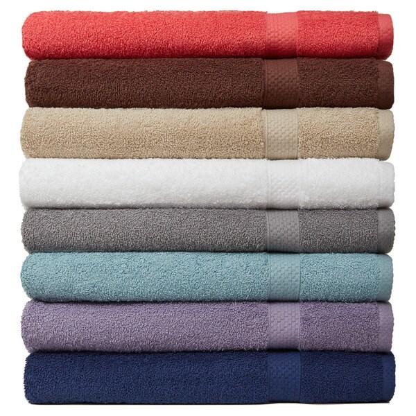 Carefree Comforts Ring Spun Turkish Cotton 6-Piece Towel Set
