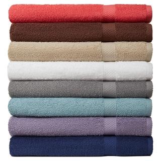 Carefree Comforts? Ring Spun Turkish Cotton 6-Piece Towel Set