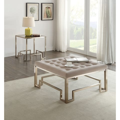 Acme Furniture Damien Champagne End Table