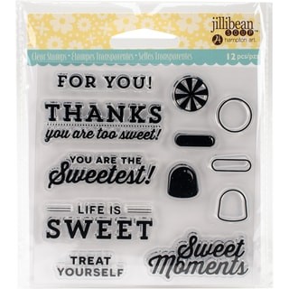 "Jillibean Soup Clear Stamps 4""X4""-Sweet Moment"