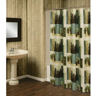 Westlake Shower Curtain by Bacova Guild
