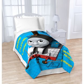 Thomas The Tank Engine T-Block Fleece Twin Blanket