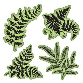 """Inkadinkado Stamping Gear 4""""X4""""-Ferns"""
