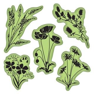 "Inkadinkado Stamping Gear 4""X4""-Meadow Flowers"