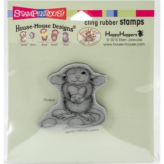Stampendous House Mouse Cling Stamp 3.5X4-Jelly Bean Thief
