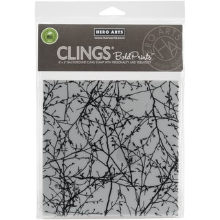 Hero Arts Cling Stamps 4.5X5.75-Branches Bold Prints