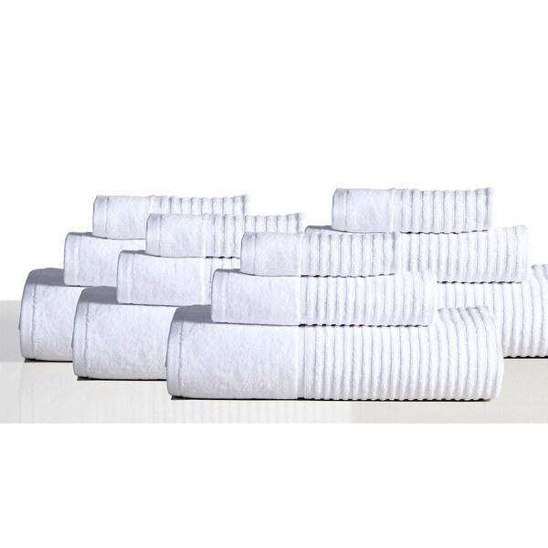 Avalon 100% Cotton 12-piece Towel Set
