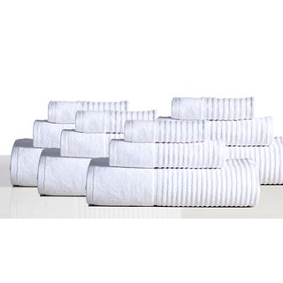 Avalon 100% Cotton 12-piece Towel Set