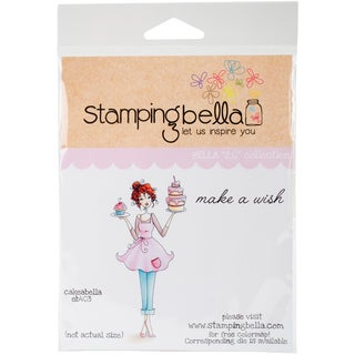 "Stamping Bella Cling Stamp 6.5""X4.5""-Cakeabella"