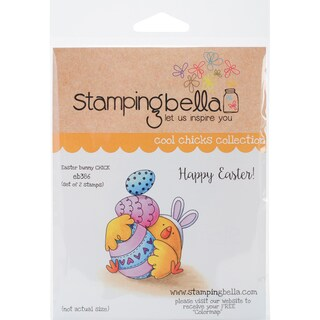 Stamping Bella Cling Stamp 6.5X4.5-Easter Bunny Chick