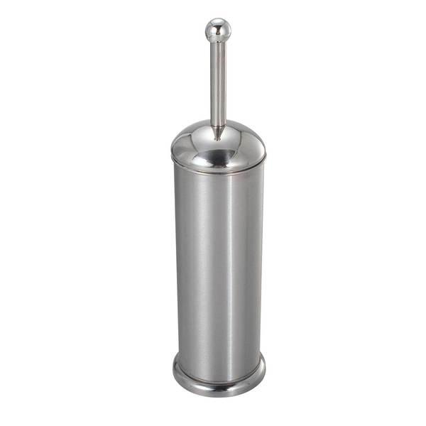 Home Basics Stainless Steel Toilet Brush and Holder