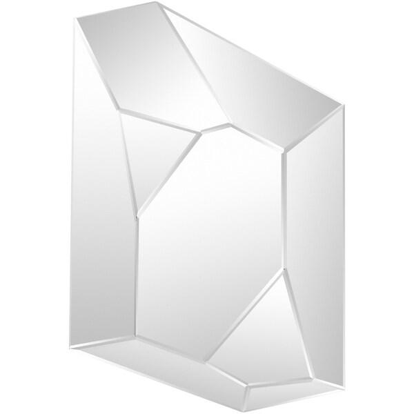 """Jolia Wall Mirror (33.27 x 47.44) - Silver - 33.3"""" x 47.4"""""""